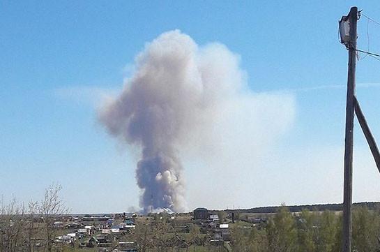 Պայթյունները են որոտացել Ուդմրուտի Պուգաչովո գյուղի տարածքում