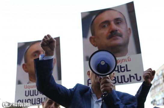 В Ереване проходит акция протеста с требованием отставки генпрокурора