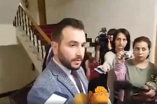 Предметного решения о формировании коалиции с фракцией «Блок Царукян» пока нет – Айк Конджорян