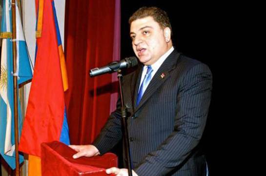 Ваагн Меликян назначен генеральным секретарем министерства иностранных дел Армении