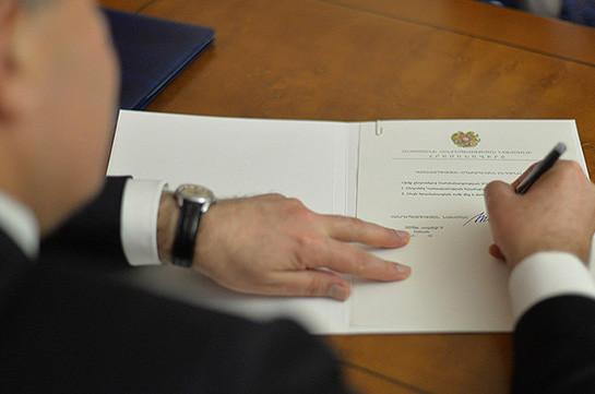 Назначены заместители начальника полиции Армении