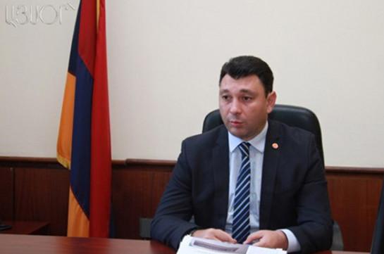 Вице-спикер парламента Армении отправился в Словакию