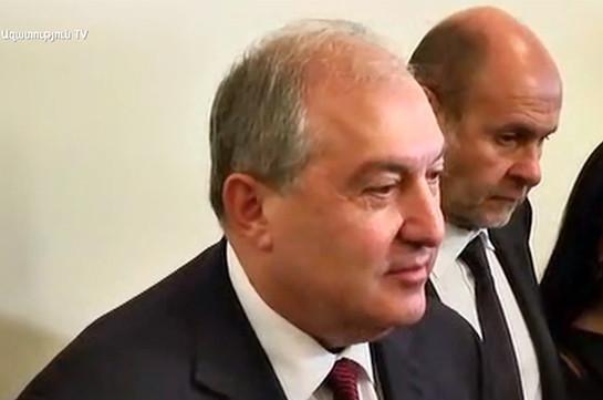 Политзаключенных в Армении не должно быть – президент
