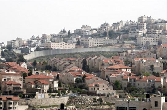 Իսրայելը 2,5 հազար միավոր բնակարան կկառուցի Հորդանան գետի Արևմտյան ափին