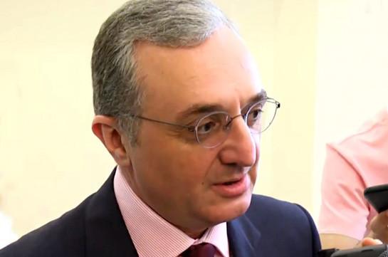 Урегулирование карабахского конфликта должно отражать наши интересы – глава МИД Армении
