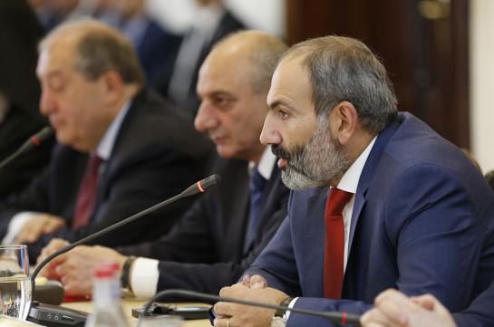 Никол Пашинян: Мы должны ответить на один важный вопрос, для чего армянский народ создал Республику Армения