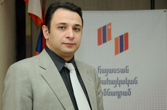 Ара Варданян переизбран в должности директора всеармянского фонда «Айастан»