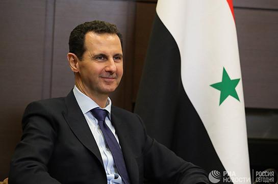 Асад заявил, что Сирия приближается к завершению войны