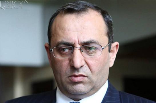 Арцвик Минасян: Нет, я не собираюсь подавать в отставку