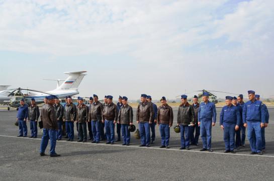 В Армении молодые вертолетчики ЮВО приступили к полетам в горах