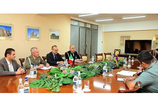 Իտալիան Հայաստանում ռազմական կցորդ է նշանակել, որի նստավայրը Մոսկվայում է