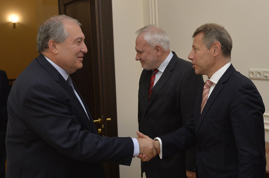 Հայաստանը շարունակելու է հակամարտության խաղաղ կարգավորմանն ուղղված ջանքերը. Նախագահ