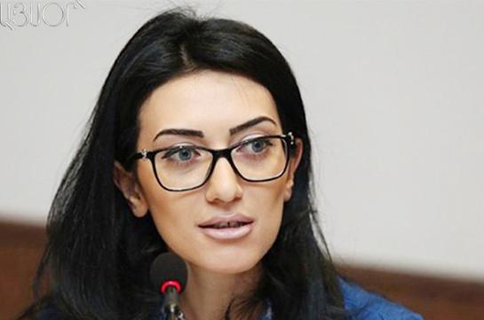 Я проголосую за лишение Манвела Григоряна депутатской неприкосновенности – Арпине Ованнисян