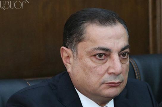 Ваграм Багдасарян: Если преступление будет доказано, Манвел Григорян и его соучастники понесут наказание по всей строгости закона