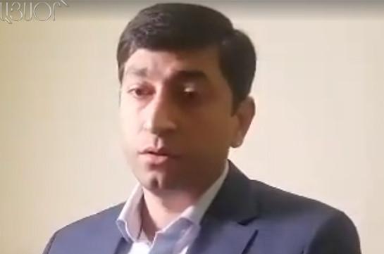Մանվել Գրիգորյանի սանիկ Անդրանիկ Կարապետյանը մեկնաբանել է, թե ինչու է լրագրողին «տուշոնկա» անվանել (Տեսանյութ)