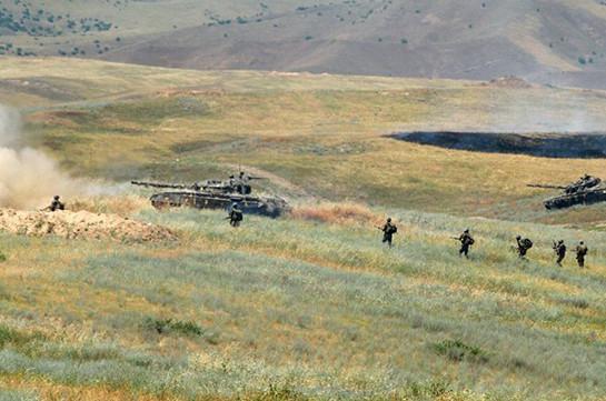 В Армии обороны Арцаха прошли двухступенчатые командно-штабные учения