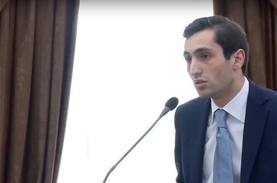 Давид Хажакян: Жители Еревана достойны того, чтобы знать, сколько будет действовать этот Совет старейшин, ответ должна дать фракция Республиканской партия