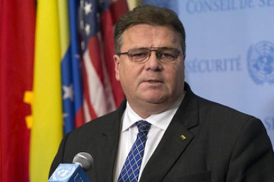 Глава МИД Литвы призвал ЕС запретить российские телеканалы