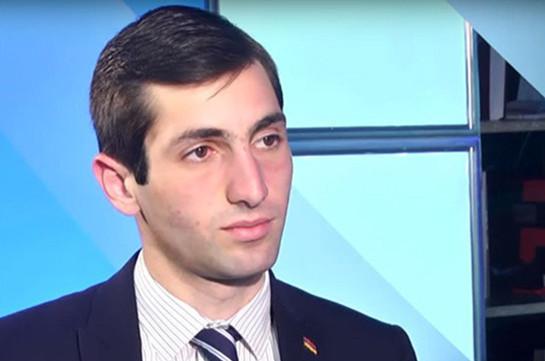 Предвыборный штаб партии «Светлая Армения» возглавит Давид Хажакян