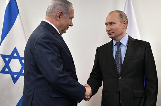 Нетаньяху планирует встретиться с Путиным в Москве