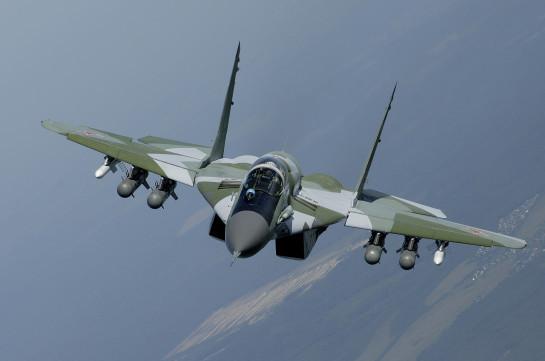 Модернизированные истребители МиГ-29 4-го поколения поступили в авиабазу ЮВО в Армении