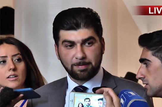 Давид Санасарян: Выявлен случай кражи трансформатора, который стоит миллионы