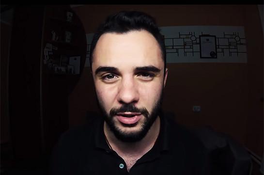 Блогер с армянскими корнями Влад Мага после посещения Азербайджана стал получать угрозы. Видеообращение