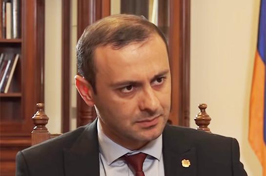 Հայաստանն ու Ռուսաստանը շարունակում են հավատարիմ մնալ Ղարաբաղյան համակարտության խաղաղ կարգավորման սկզբունքին. ԱԱԽ քարտուղար
