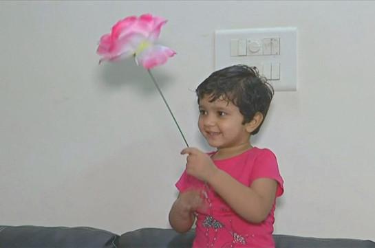 Հնդկաստանում բացառիկ հիշողությամբ 2-ամյա աղջիկը ռեկորդ է սահմանել (Տեսանյութ)