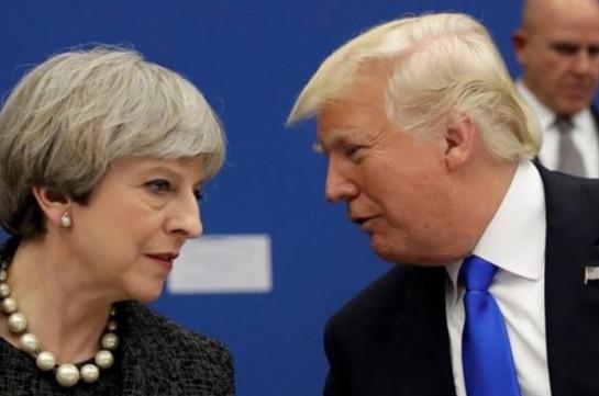Մեյն անհամբերությամբ է սպասում Brexit-ի շուրջը Թրամփի հետ բանակցություններին