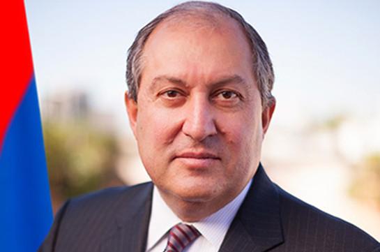 Հայաստանը մեծապես կարևորում է Ֆրանսիայի ջանքերը Լեռնային Ղարաբաղի հակամարտության խաղաղ կարգավորման գործընթացում. ՀՀ նախագահ