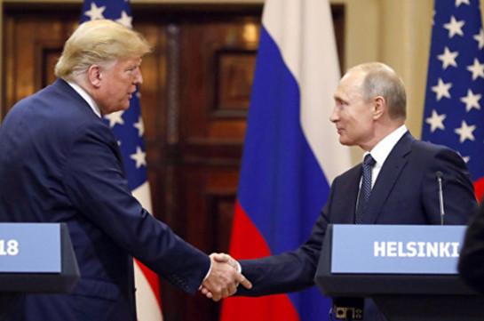 Պուտին. Ռուսական հատուկ ծառայությունները չունեն Թրամփի դեմ ոչ մի կոմպրոմատ