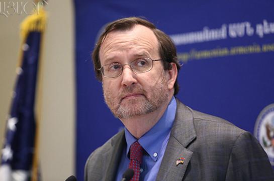 Посол США: Американские инвесторы следят за ситуацией вокруг компании «Лидиан Армения»