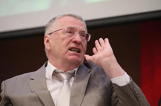 Ժիրինովսկին մեղադրել է ԵՄ-ին Ռուսաստանը կոմունիզմի կառուցման փորձի անցկացման նպատակով օգտագործելու համար