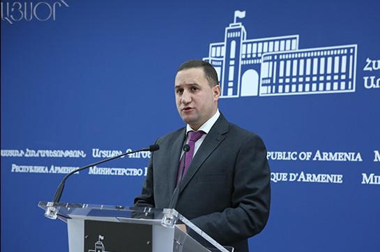 В Ереване назвали странным заявление представителя МИД Азербайджана о том, что не знают, кто из Армении будет вести переговоры по Карабаху