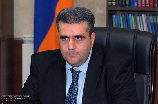Երվանդ Խունդկարյանը՝ Վճռաբեկ դատարանի նախագահ