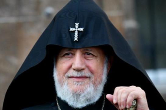 Католикос Гарегин II отбыл в Москву