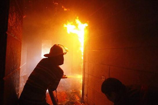 В Подмосковье произошёл крупный пожар