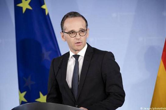 Руководитель МИД Германии: Аннексия Крыма противоречит нормам интернационального права