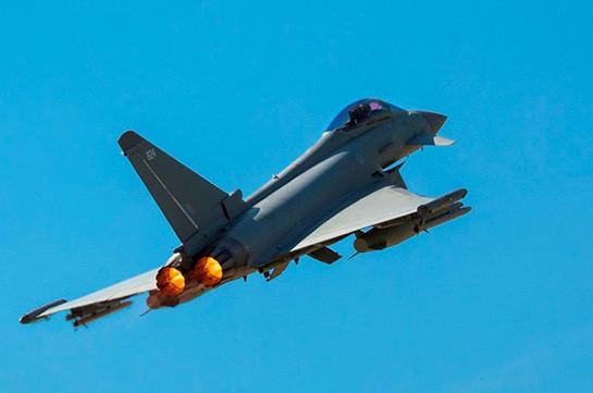 ВВС Британии сопроводили российский Су-24 над Черным морем