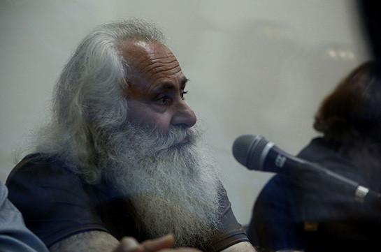 Член вооруженной группировки «Сасна црер» Мартирос Акопян будет освобожден
