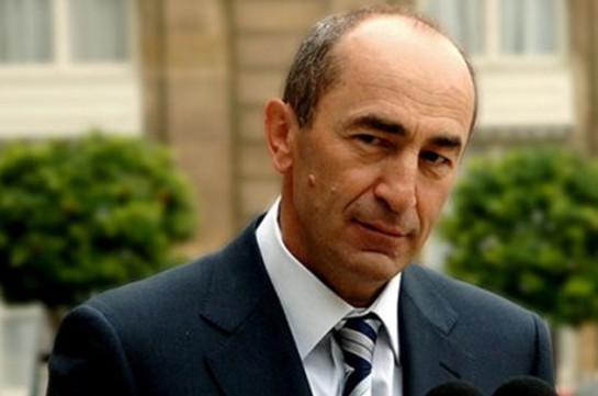 Փաստաբանները բողոքարկել են Ռոբերտ Քոչարյանին կալանավորելու մասին որոշումը