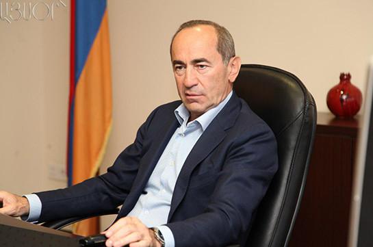 Ազգային ժողովի 38 պատգամավոր երաշխավորել է Ռոբերտ Քոչարյանի ազատման համար