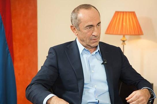 Группа депутатов парламента Арцаха представила ходатайство для изменения меры пресечения в отношении Роберта Кочаряна