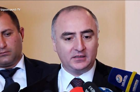 Это следственная тайна – начальник Специальной следственной службы отказался сообщить вызывался ли на допрос Овик Абраамян