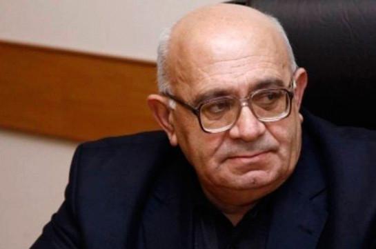 Լևոն Շիրինյանը որոշել է մասնակցել ԱԺ արտահերթ ընտրություններին