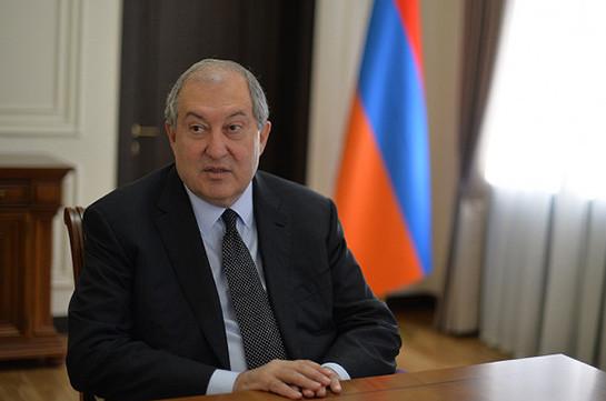 Արմեն Սարգսյանը Սնանկության դատարանի դատավորներ է նշանակել