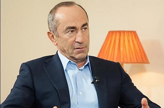 Ռուսաստանի հետ այդպես խոսել չի կարելի. Ռոբերտ Քոչարյան