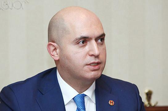 ՀՀԿ-ի արդիականացման ծրագիրն ավարտում ենք. Արմեն Աշոտյան