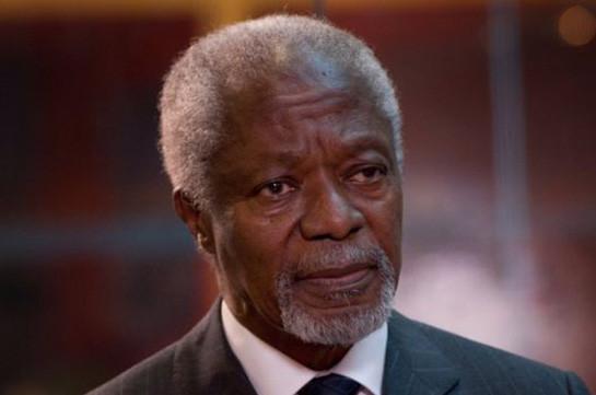 Մահացել է ՄԱԿ-ի նախկին գլխավոր քարտուղար Քոֆի Անանը